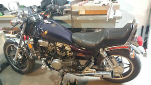 Two 1982 Honda V45 magnas for sale