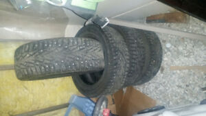 225/60/R16 studed winter tires