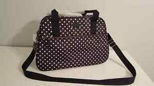 "NWT Kate Spade ""Milla"" Spot Nylon Weekend/Carry-on/Duffel Bag Stratford Kitchener Area image 2"