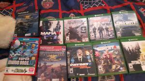 Wii u , Xbox one & Ps2