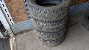 Set of 4 Gislaved NordFrost100 215/60R16 WINTER tires (70% tread