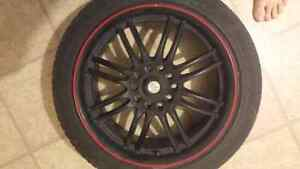 17Inch rims 2 with tires