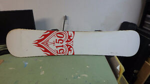 135 cm  (youth) 5150 board with Flow 3 Flite bindings