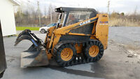 2003 Case 40XT Skid Steer - Enclosed cab with heat