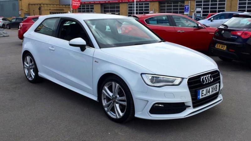 2014 audi a3 1 6 tdi s line s tronic automatic diesel hatchback in croydon london gumtree. Black Bedroom Furniture Sets. Home Design Ideas