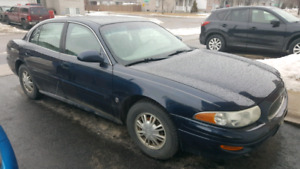 2002 BUICK LASABRE CUSTOM W/ 183672KMS NEEDS TO GO!!