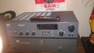 NAD audio reciever intergrated an 2 2140 power amps