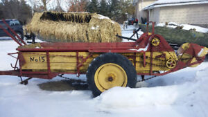 Older manure spreader