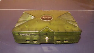 Limited Edition Translucent Green Original Xbox w/ Games