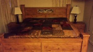 King Size 4pc Bed Set