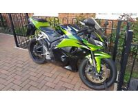 mint honda cbr 600 rr, new mot and tyres, leo vince exhaust
