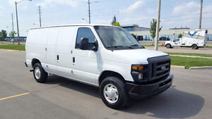 SOLD! 2008 Ford E-250 Cargo Van Certified Air Condition