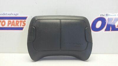 93-97 CHEVY CAMARO DRIVER LEFT STEERING WHEEL AIR SRS BAG BLACK