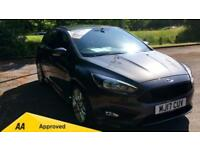 2017 Ford Focus 1.0 EcoBoost 125 ST-Line with Manual Petrol Hatchback