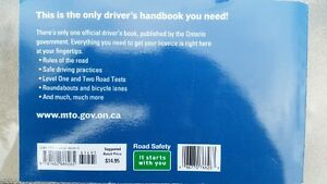 *** The Official MTO Driver's Handbook for Ontario **** Belleville Belleville Area image 2