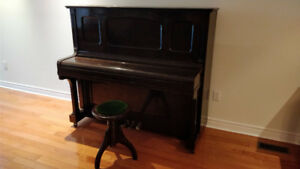 Upright Piano - Tuned and good sound