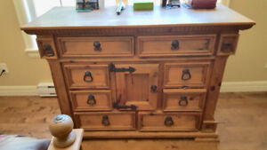 Beautiful bedroom suite dressers for sale. Immaculate all wood