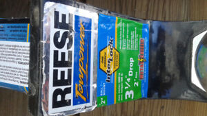"""Reese 2"""" trailer hitch and ball with lock"""