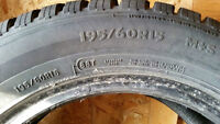 "15"" Winter Tires size 195/60R15"