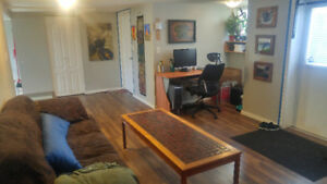 1 bedroom available in cozy basement suite April 1