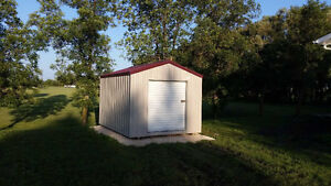 Custom Steel Frame Storage Sheds - Rent to Own Available