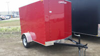 New Mirage enclosed trailers