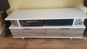Coffee table and entertainment unit