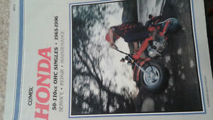 Honda 50cc to 110cc repair manual