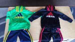 2t Adidas track suits euc