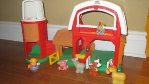 Ferme avec animaux Fisher Price Little People