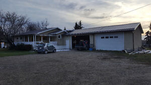 **House on farm for rent.**