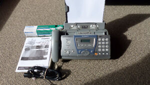 Panasonic Compact Fax with Digital Answering System
