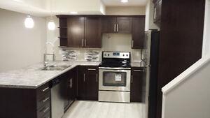 Bright new three bedroom Basement Suite with in floor heat
