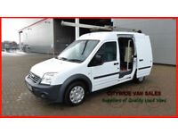 2009 FORD TRANSIT CONNECT 1.8TDCi 90PS T230 LWB WHITE DIESEL VAN