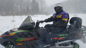 Arctic Cat Triple Touring Snowmobile