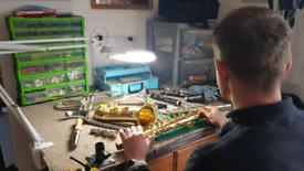 Clarinet service £25 / Saxophone service £40