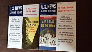 Lot#242- 1969 Space Related Mags 5 total. PURGING ITEMS. Strathcona County Edmonton Area image 5