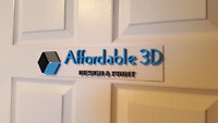 Affordable 3D - 3D Printer and Designer
