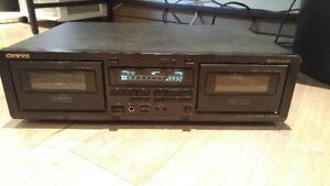 Onkyo TA-RW344 Stereo Double Cassette Auto-Reverse Tape Deck