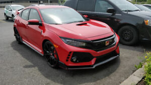 Honda Civic Type R Hatchback CTR 2018 - Rouge RARE - Incentive $