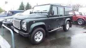 2010 Land Rover Defender DEFENDER 110 XS UTILITY air con leather full landro...