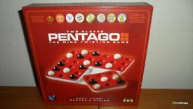 PENTAGO - Mind Twisting Game for Two Players (New)