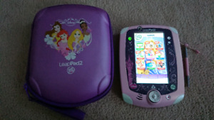 Disney Princess LeapPad 2 with Case As-Is Condition