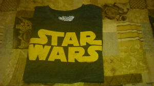 Old Navy Star Wars collectibles short sleeved t-shirt