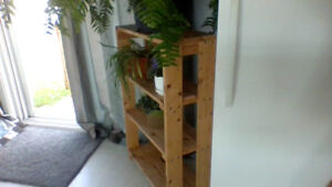 Wooden Shelves/Stands for sale
