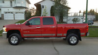 2008 Chevrolet Silverado 2500 Red Pickup Truck