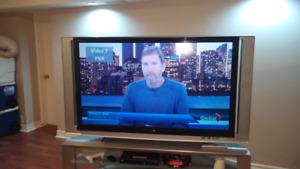 "60"" Sony Grand Wega HD tv and stand"