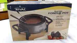 Electric fondue pot