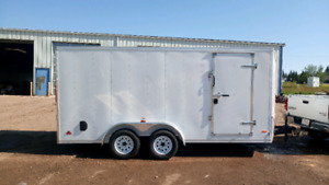 MINT CONDITION 7'x16' RC UTILITY CARGO TRAILER