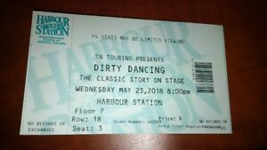 Dirty Dancing ticket for sale - Harbour Station - May 23, 2018